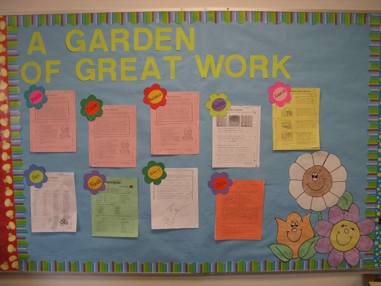 Bulletin Board Ideas In Classroom : Classroom compulsion new activities and some bulletin