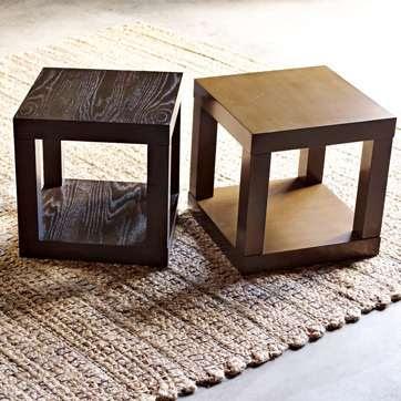 Decor dilettante ikea lack cube side table - West elm parsons console ...