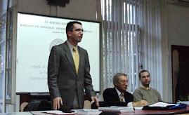 Aspect din timpul comunicării d-lui Tudor-Radu Tiron, CHGS-I, 11.10.2011...