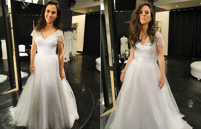 Vestido de Noiva de Valdirene - Novela Amor à Vida