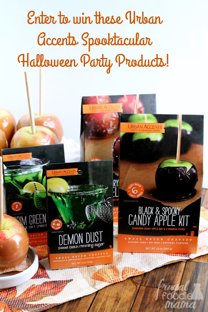 Get entered to win an Urban Accents Spooktacular Halloween Party prize pack! Hurry- ends 10/23/15!