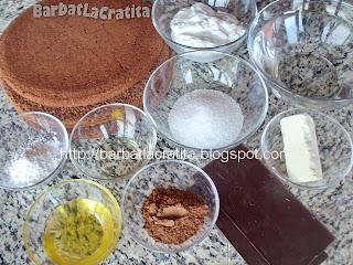 Tort de ciocolata ingrediente reteta