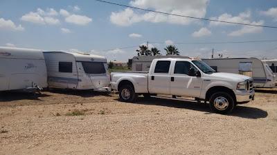 Caravan storage in Spain