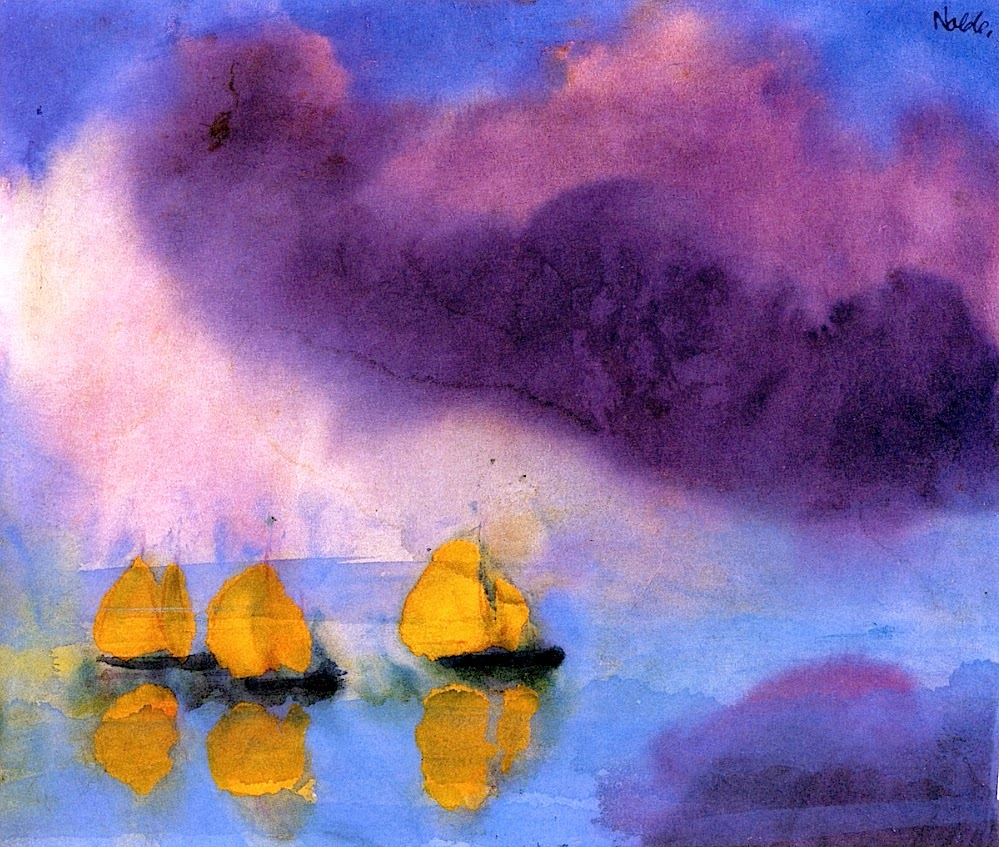 emil nolde A master of colour, emil nolde (1867-1956) was known for his windswept landscapes, his depictions of the berlin demi-monde and his portrayal of his south seas travels he was one of germany's .