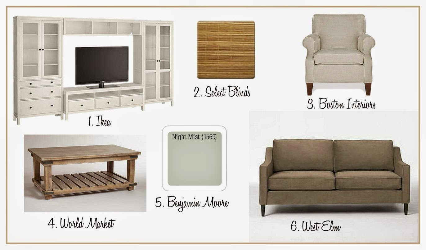 Project House to Home: Project Living Room: The Furniture