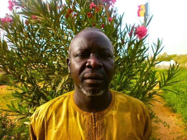 L'Inspecteur d'académie: M. Oumar Ndiaye