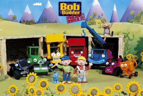 Bob the Builder Children Animated Cartoon