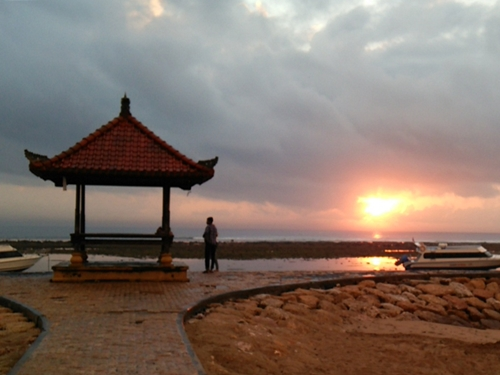Pantai Sanur ・ sunrise in the morning