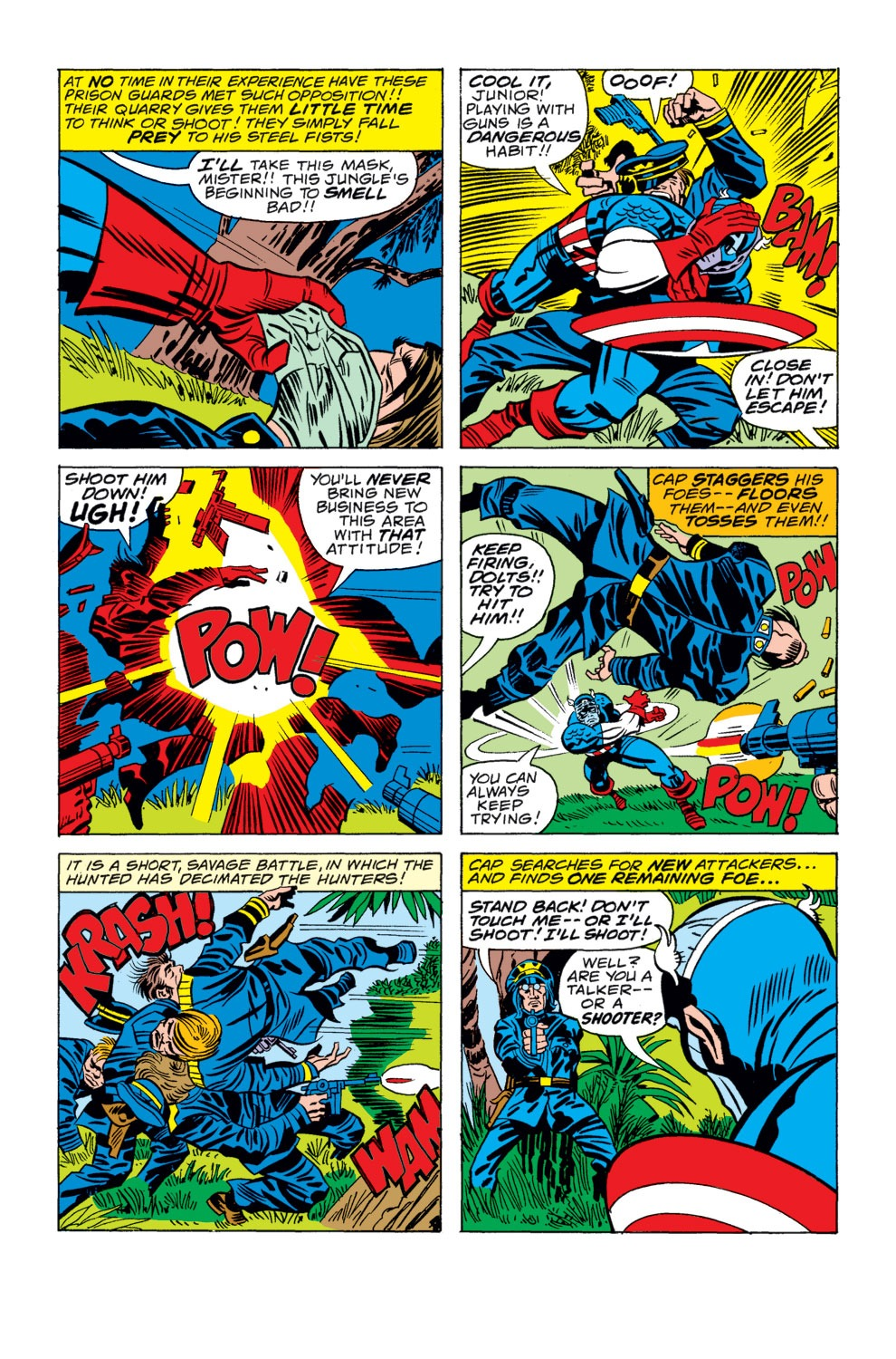 Captain America (1968) Issue #207 #121 - English 9