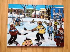 La patinoire de quartier