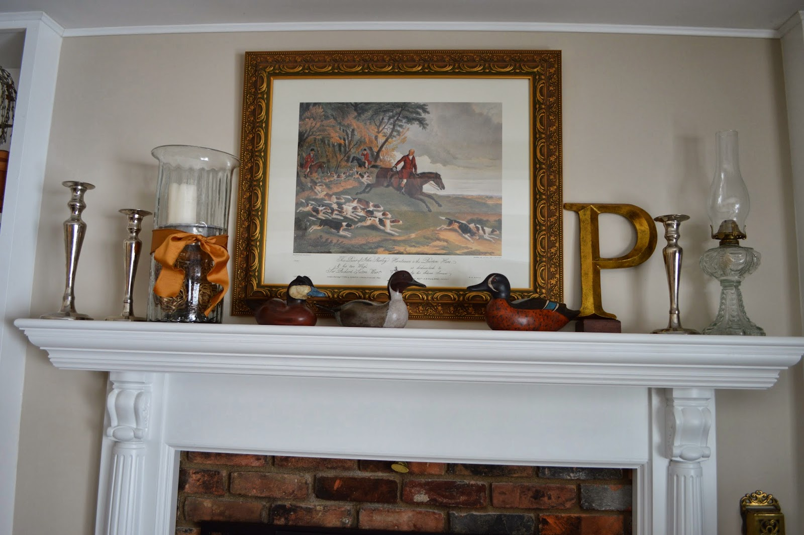 Blue Ribbon Kitchen STYLING AN EVERYDAY MANTEL