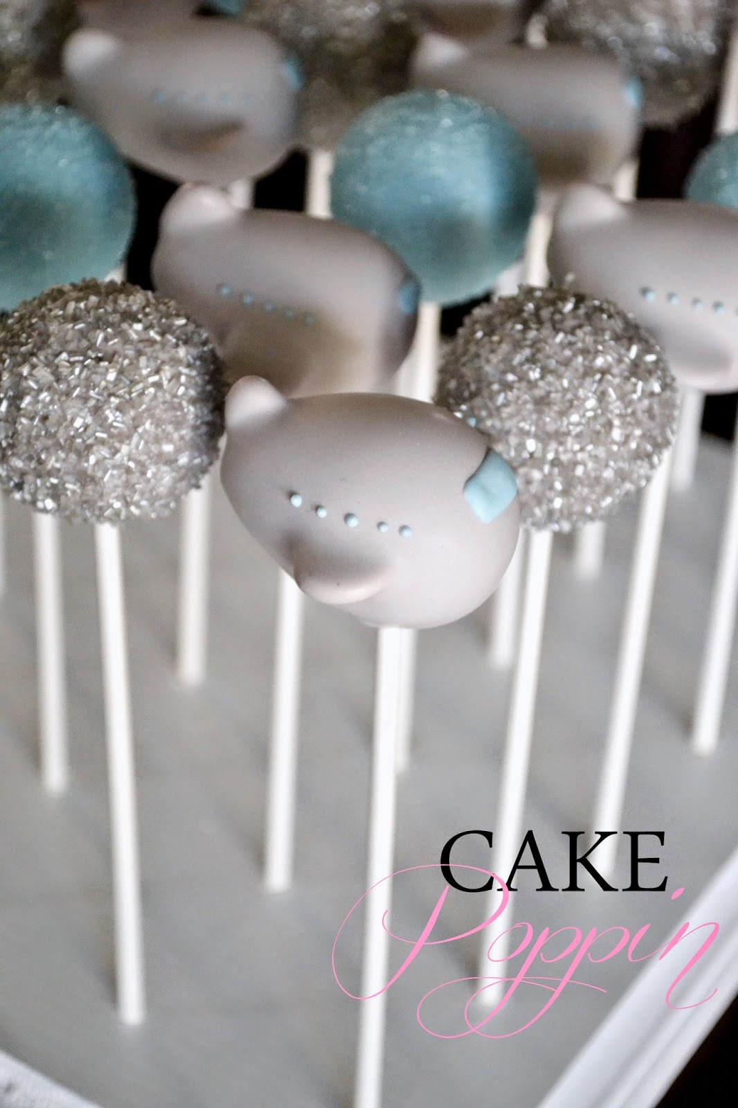 Elephant Shaped Cake Pops