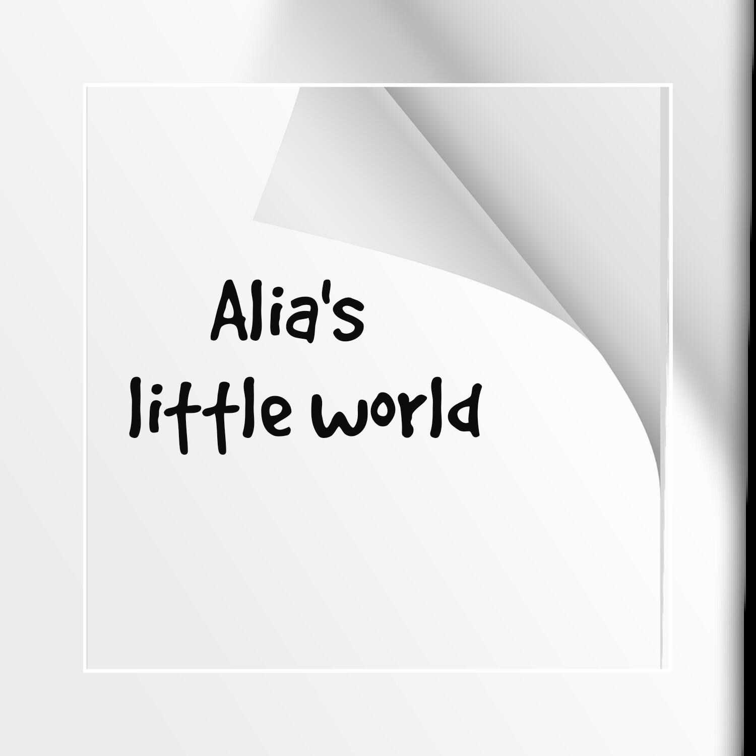 Alia's little world
