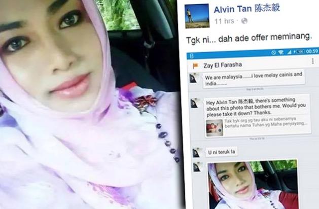 Awek Melayu Mahu Jadi Isteri Alvin Tan