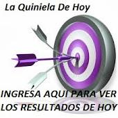 LA QUINIELA DE HOY - RESULTADOS