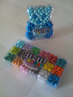 M&M's World - Blue Bear / Jewellery Box