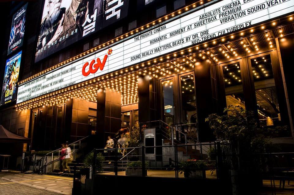 hãng phim lớn nhất của nước này là CJ-CGV