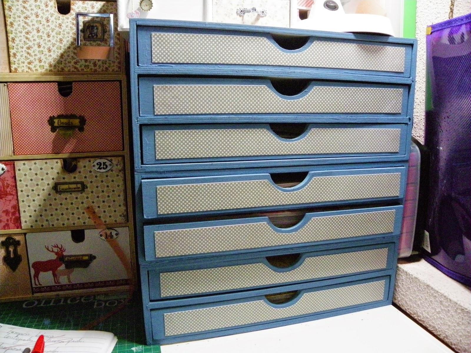 Scrapeando un ratito mueble para papeles 30 x 30 - Papeles adhesivos para muebles ...