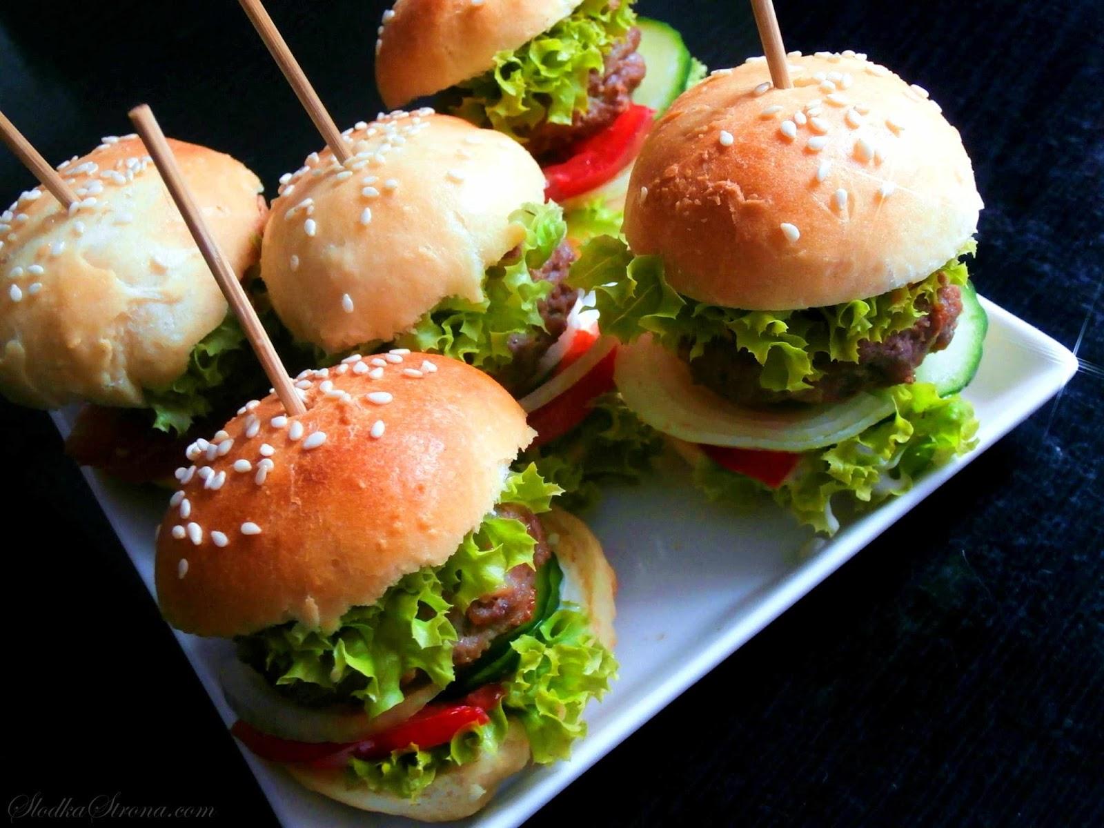 mini hamburgerki dla dzieci