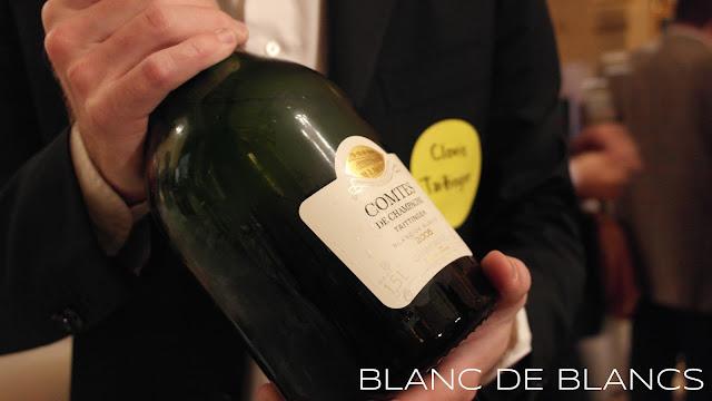 Clovis Taittinger ja Comtes de Champagne Blanc de Blancs 2005 - www.blancdeblancs.fi