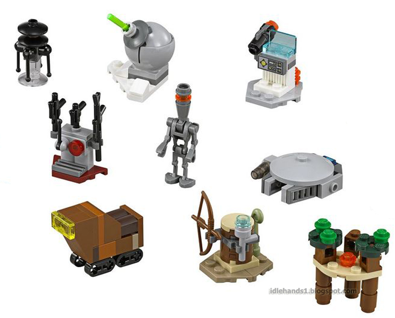 Idle Hands: Star Wars: The Force Awakens LEGO!