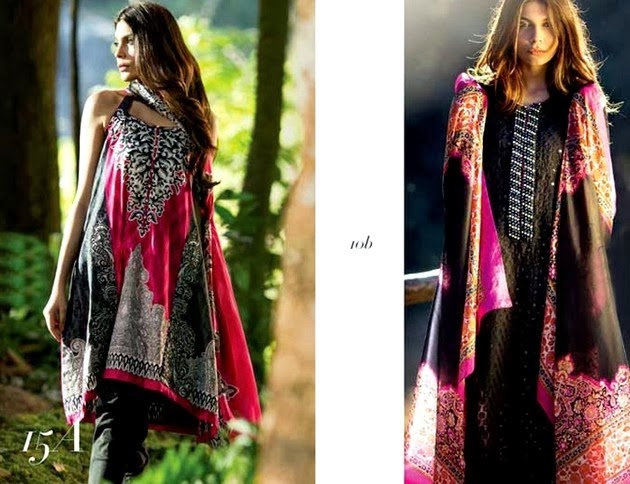 Sana Safinaz Chiffon Collection
