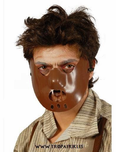 Máscara Aníbal Lecter 6,63€