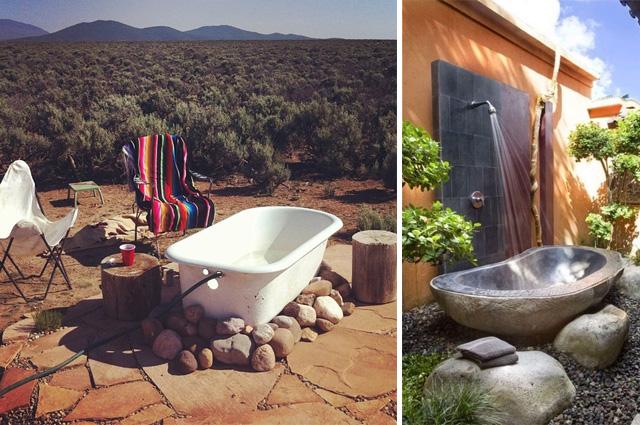 baignoire extérieur