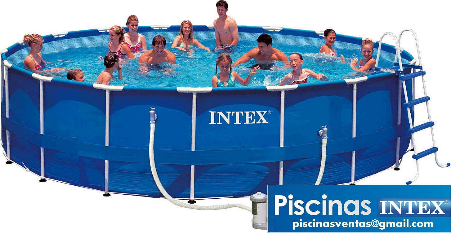 Piscinas ventas for Alberca intex redonda