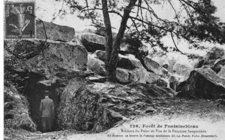 Bleau : Forêt touristique