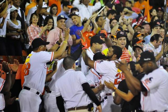 Los Gigantes del Cibao son los campeones del torneo de béisbol invernal de la República Dominicana.