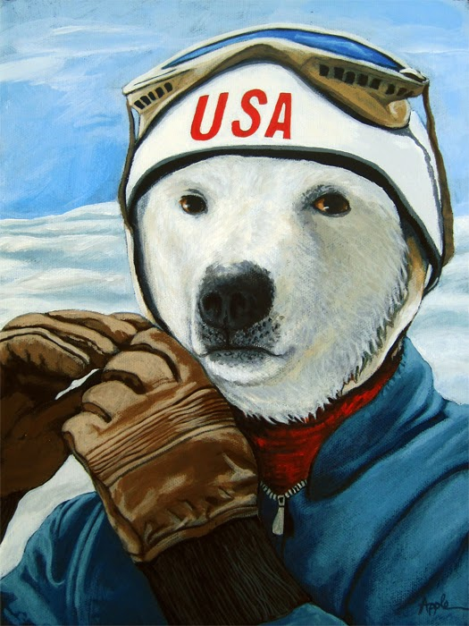 http://www.applearts.com/content/winter-olympic-skier-polar-bear-animal-art