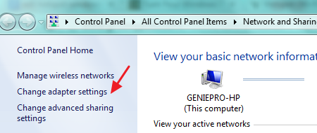 how to local network connection allow by window 10