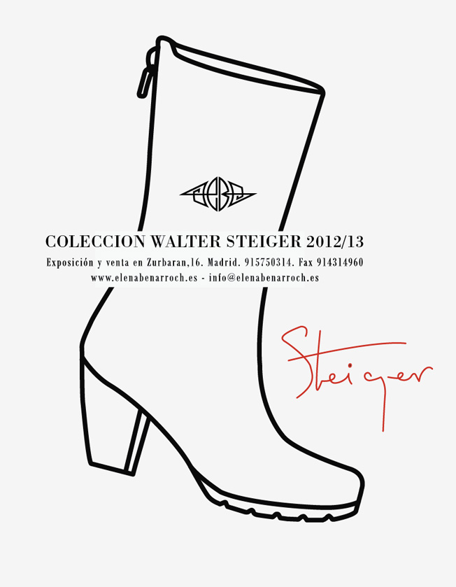 Colección Walter Steiger 2012 / 2013 Madrid