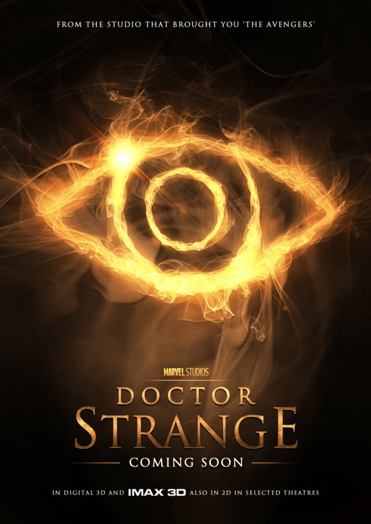 ... These Fan Made DOCTOR STRANGE Movie Posters of Benedict Cumberbatch Benedict Cumberbatch