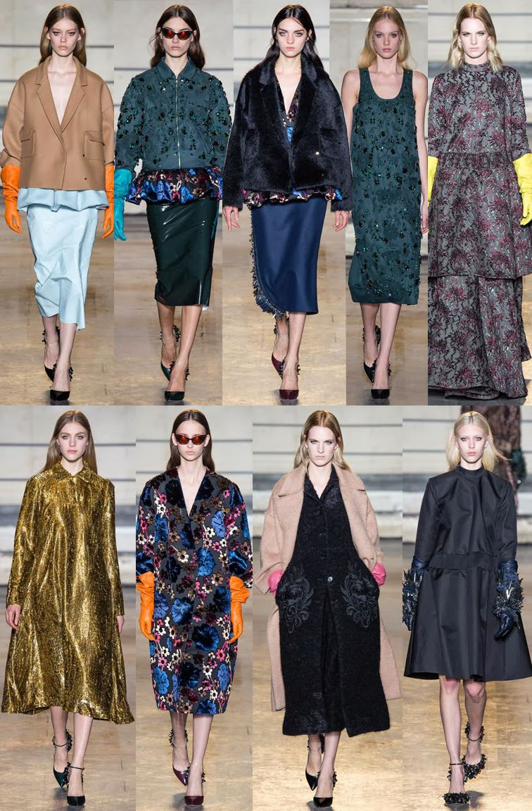 Rochas by Alessandro Dell'Acqua fall winter 2014 runway collection, PFW, Paris fashion week
