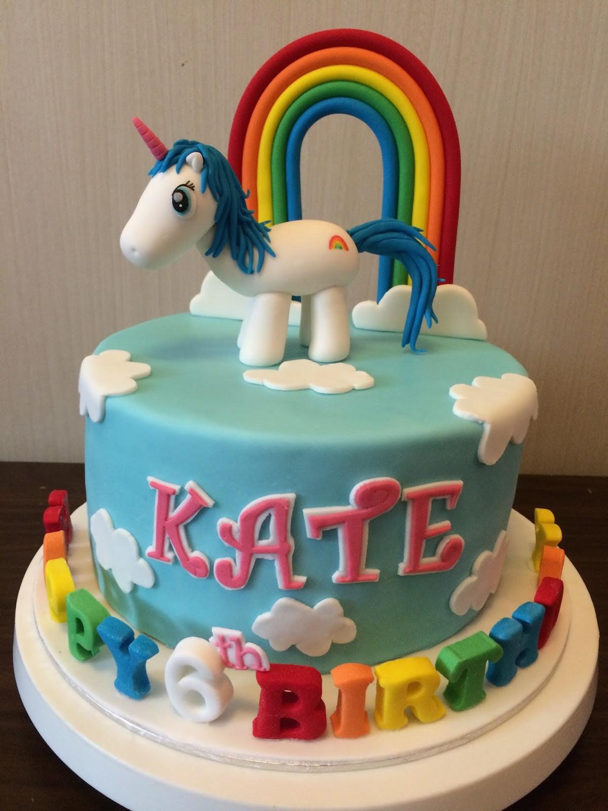 Unicorn Rainbow Cake Crissas Cake Corner