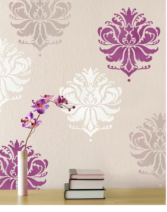 Como hacer adhesivos o siluetas decorativas - Plantillas pared ...