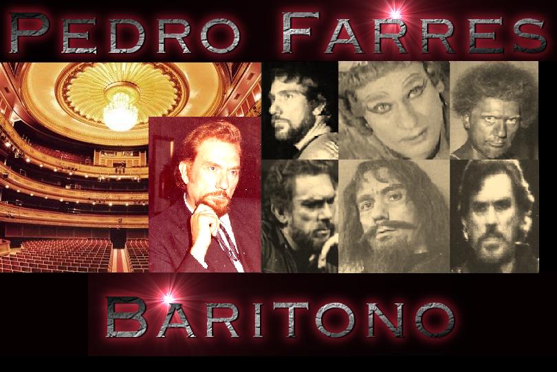 El gran Baritono Pedro Farres