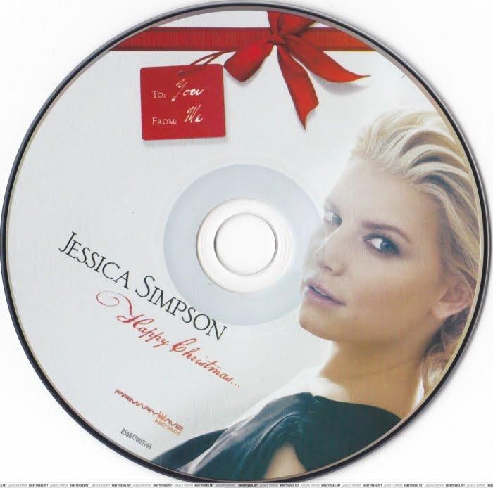 Encartes Pop: Encarte: Jessica Simpson - Happy Christmas
