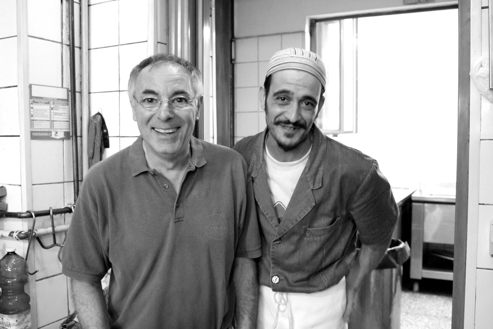Trattoria Sostanza Firenze chef kitchen