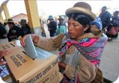 Bolivia VOT JUSTICIA POPULAR