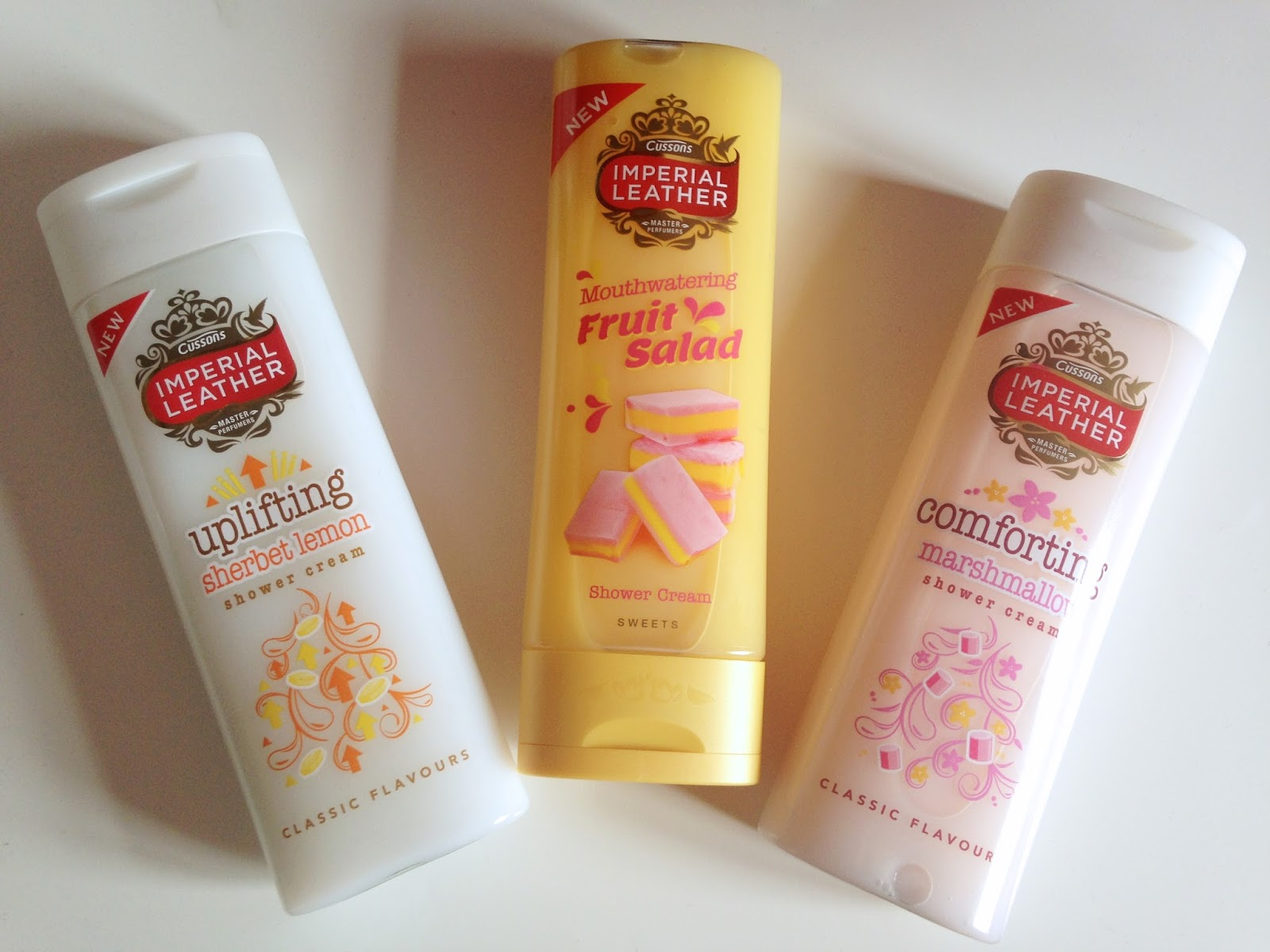 Imperial Leather Classic Sweets Flavour Shower Creams