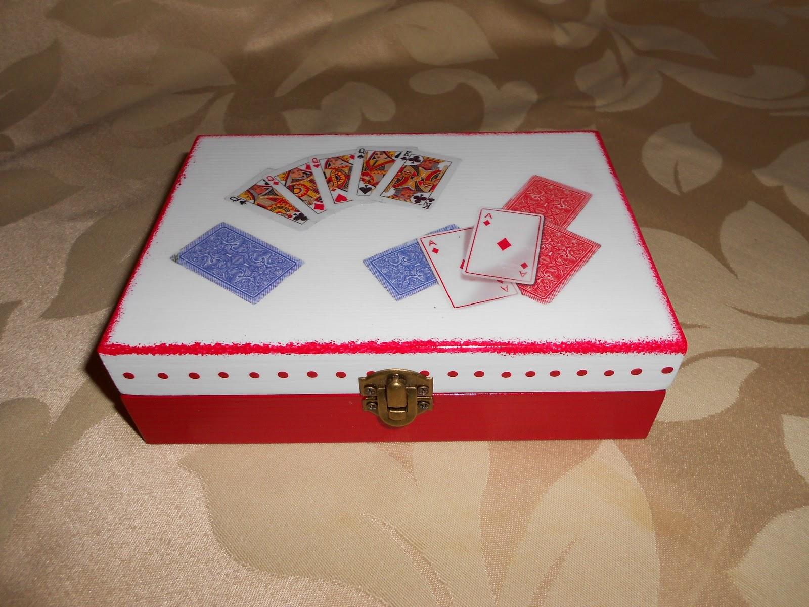 Lojinha de Caixas Artesanato: Caixa para cartas. #AF1C31 1600x1200