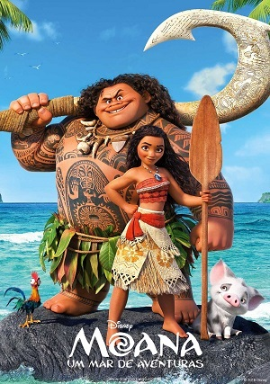 Moana - Um Mar de Aventuras Blu-Ray Torrent Download