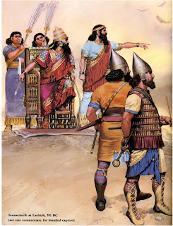 Assyrian Wars With Judah
