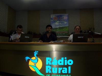 Candidato a prefeito Beto pelo PT de Alagoa Grande foi Entrevistado na Rádio Rural de Guarabira