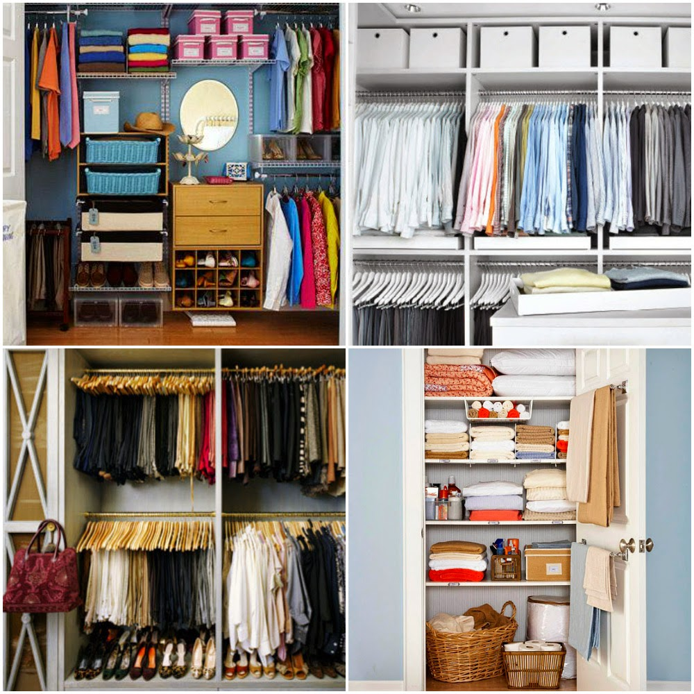 a closet divided and organized is a happy closet