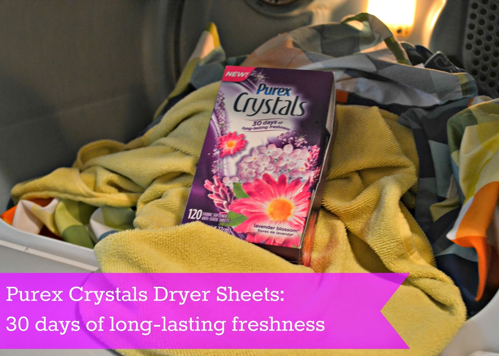 Purex Crystals Dryer Sheets {Review and #Giveaway}