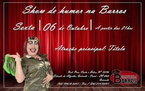 SHOW DE HUMOR NO RESTAURANTE BARROS